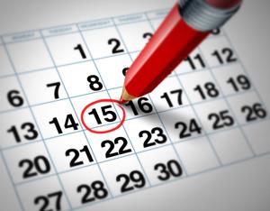 La centralité du calendrier en entreprise