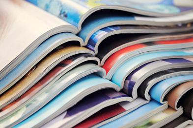 Papiers certifiés pour imprimeur un magazine d'entreprise