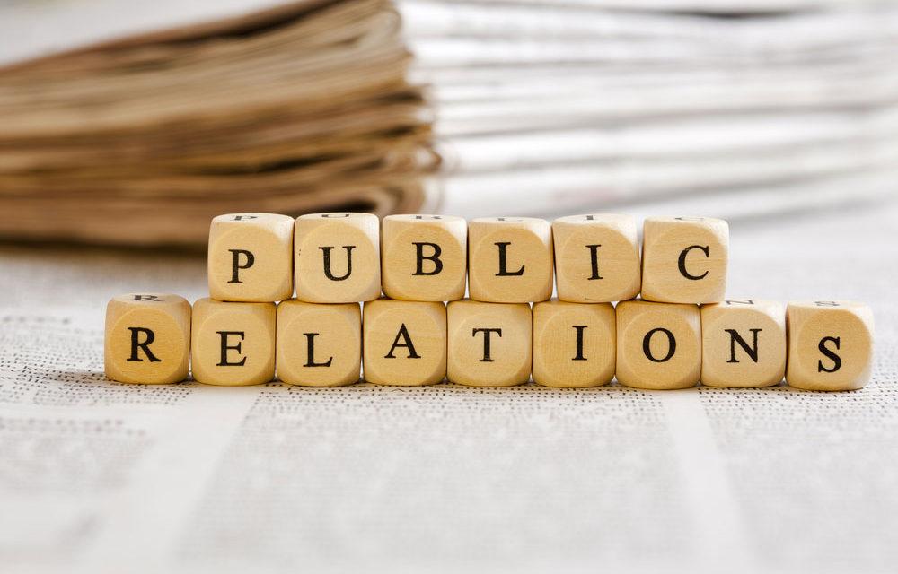 Une agence de relations publiques pour la promotion d'une entreprise